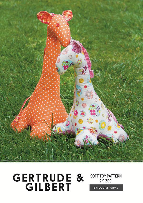 Gertrude & Gilbert Stuffed Toy Pattern