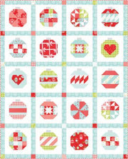 Vintage Holiday Ornaments Quilt Kit