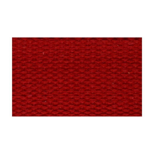 100% Cotton Strap Red 1""