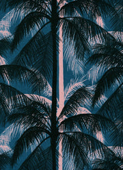 Poolside Palm Canvas