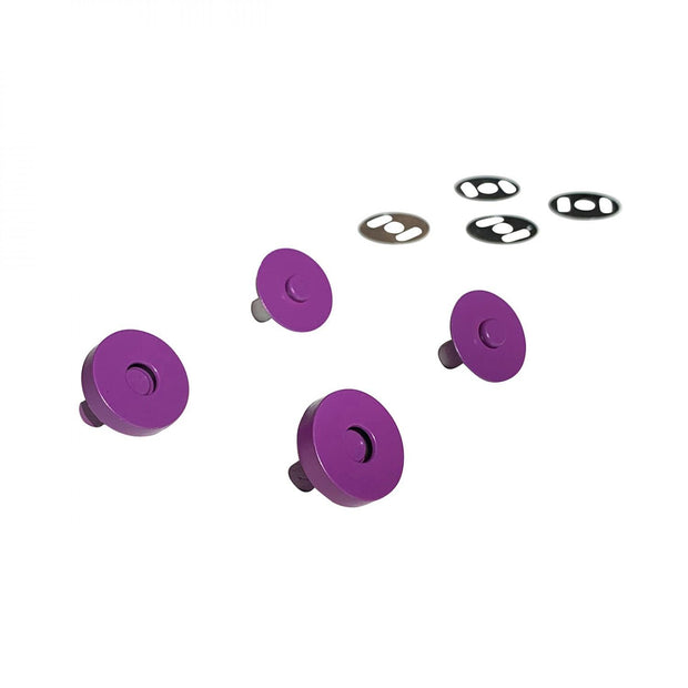 Magnetic Snaps Purple