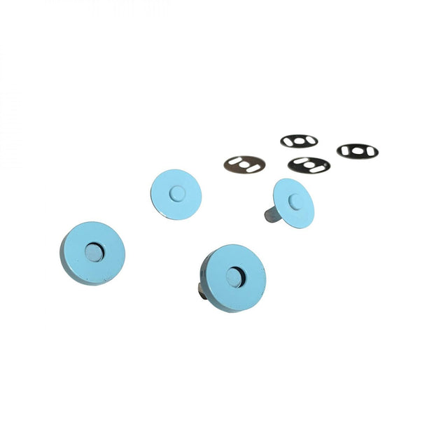 Magnetic Snaps Light Blue