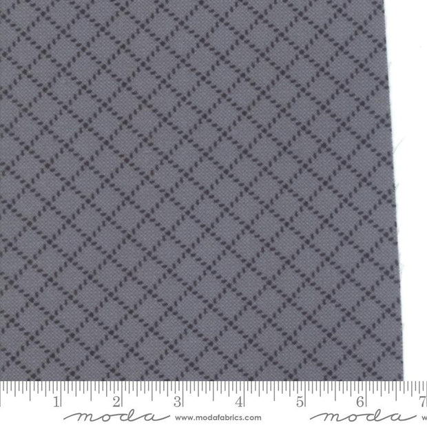 Farmhouse Flannels II Graphite Barbwire