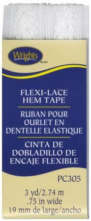 "Flexi Lace Tape 3/4"" White"