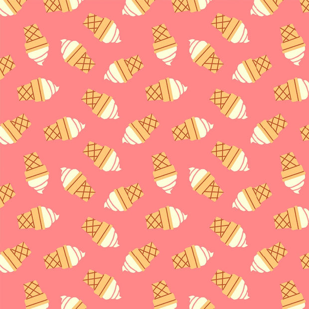 Food Truck Soft Serve Cones Pink
