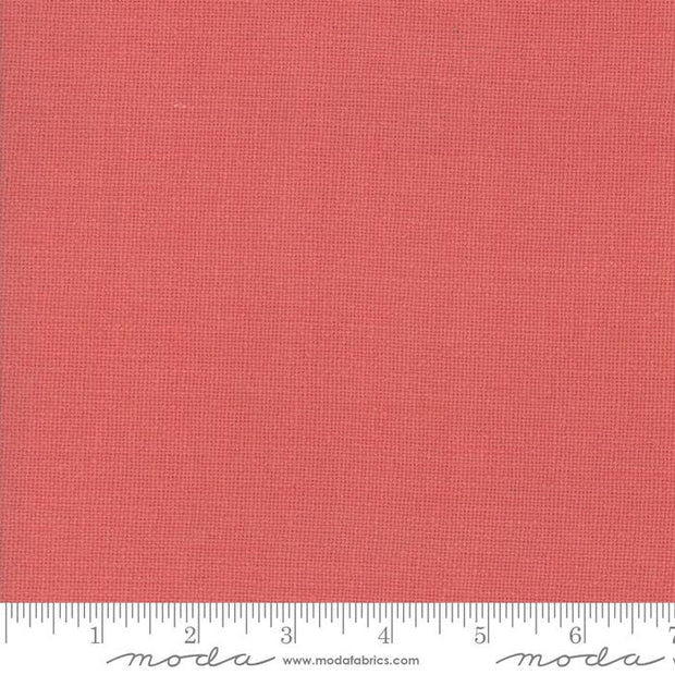 French Sashiko Prairie Faded Red