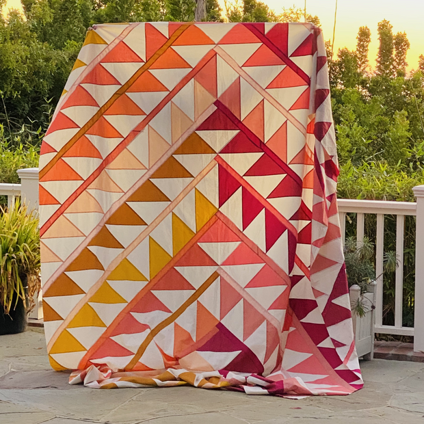 Gather Quilt Kit Warm Colorstory
