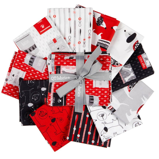 Hot Diggity Dogs Fat Quarter Bundle