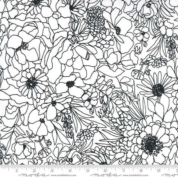 Illustrations Modern Florals Paper