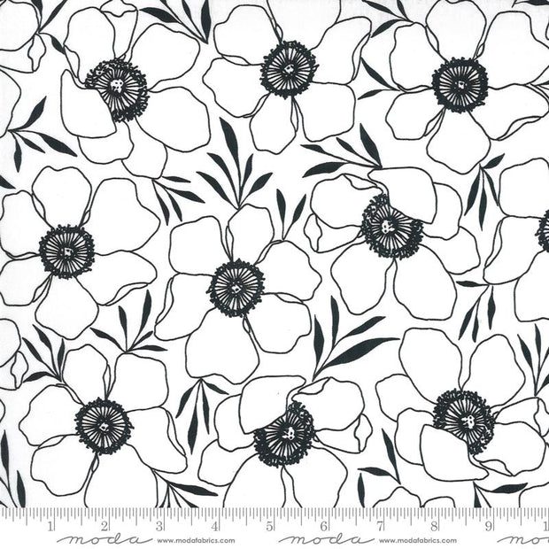 Illustrations Moody Florals Paper