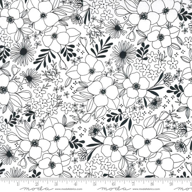 Illustrations Wild Florals Paper