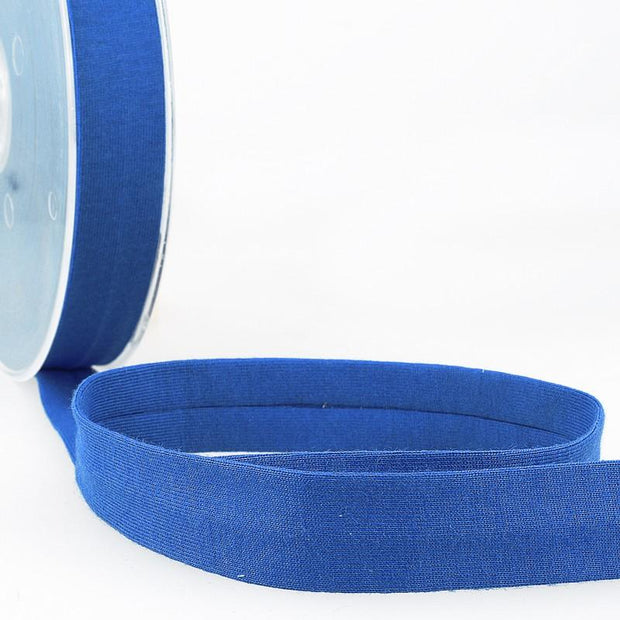 "Jersey Bias Tape 3/4"" Royal Blue"