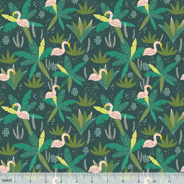 Junglemania Flamingo in Teal