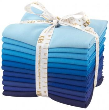 Kona Cotton Fat Quarter Bundle Sky Gazer Palette