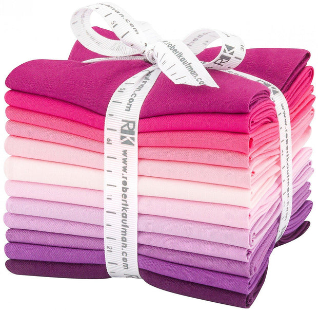 Kona Cotton Fat Quarter Bundle Wildberry Palette