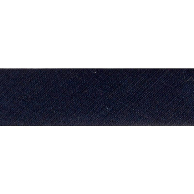 "Linen Bias Tape 3/4"" Navy"
