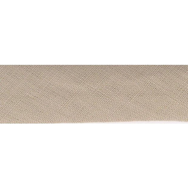 "Linen Bias Tape 3/4"" Taupe"