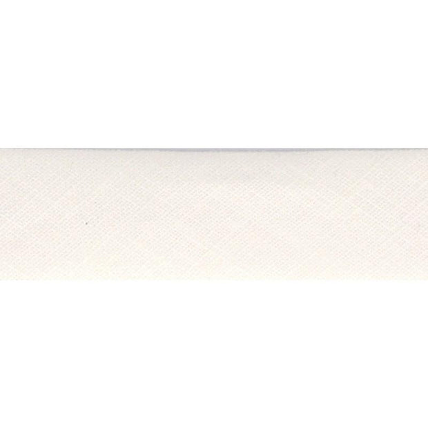 "Linen Bias Tape 3/4"" White"