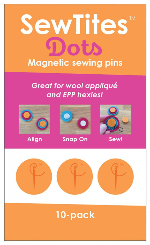 Magnetic Pin Dots 10 Pack