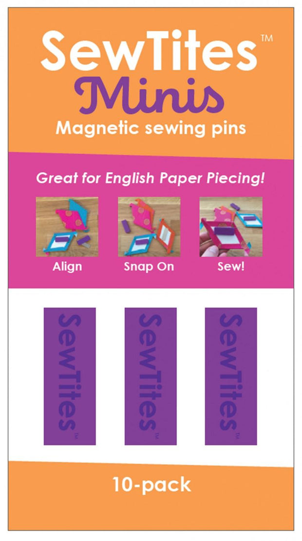 Magnetic Pin Minis 10 Pack