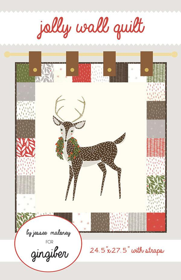 Merriment Jolly Wall Quilt