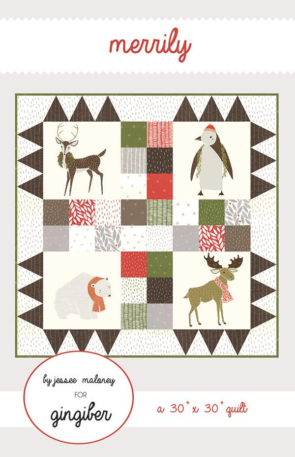 Merriment Merrily Quilt Pattern