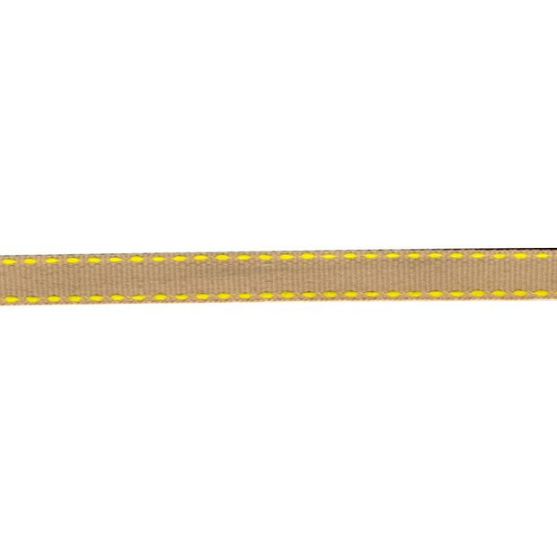 "Neon Stitched Trim 3/8"" Yellow"