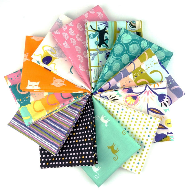 Oh Meow! Fat Quarter Bundle