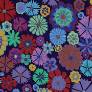 Artisan Folk Flower Purple