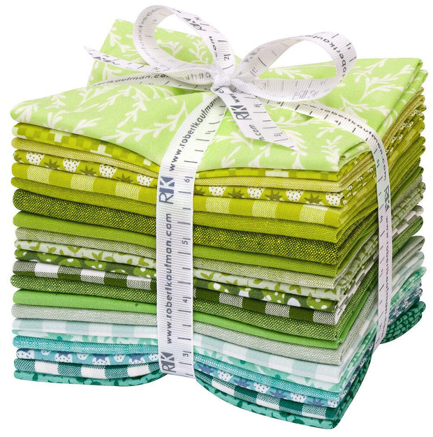 Paintbox Meadow Palette Colorstory Fat Quarter Bundle