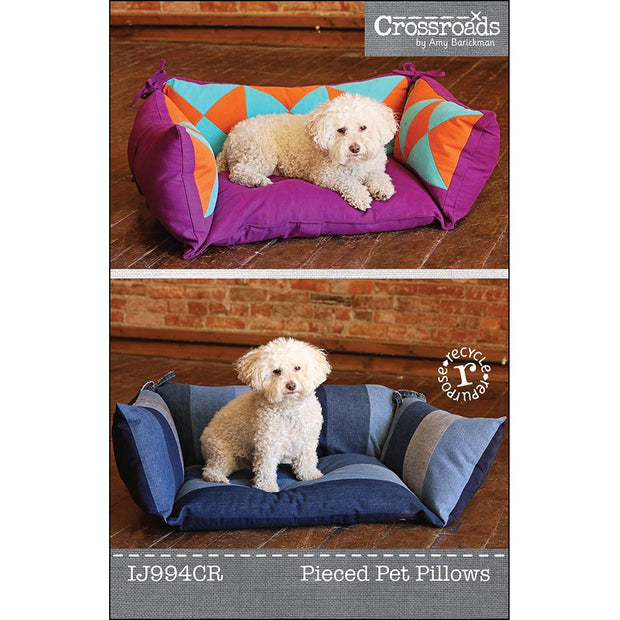 Pieced Pet Pillow