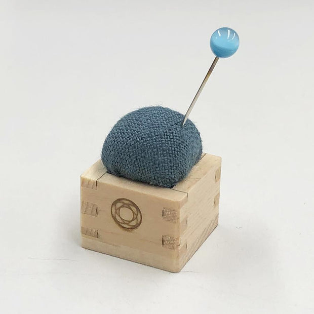 Pin Cushion of Mini Masu Green