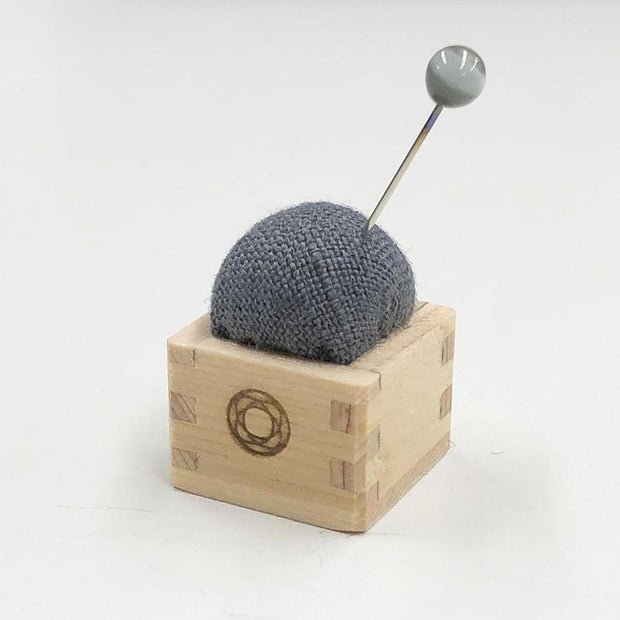 Pin Cushion of Mini Masu Grey