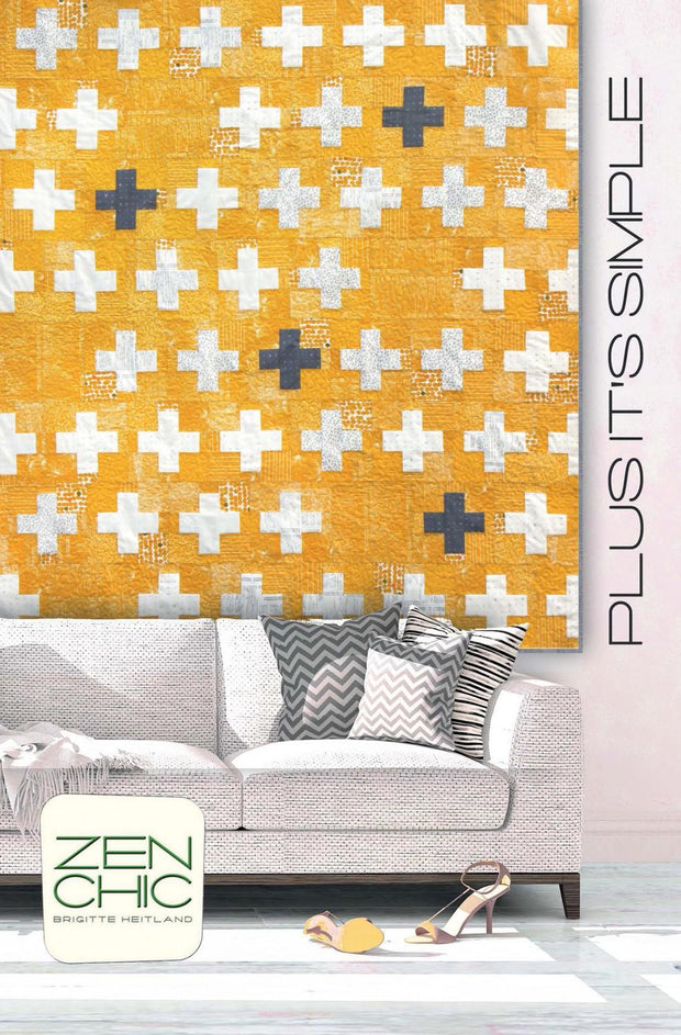 Plus It's Simple Quilt Pattern
