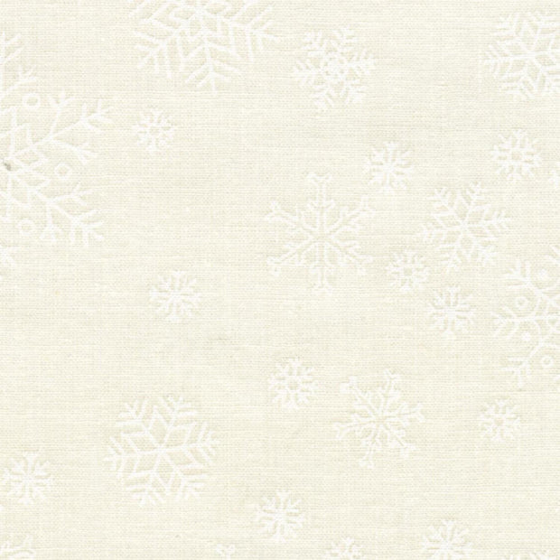 Ramblings White on White Snowflakes