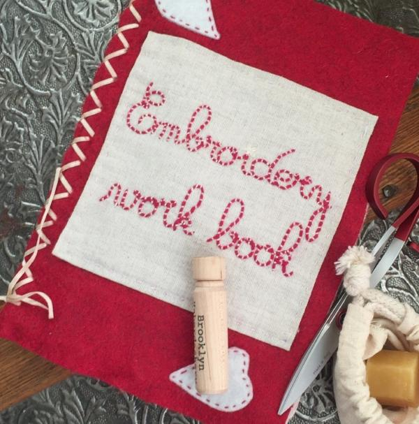 Sampler Notebook Embroidery Kit