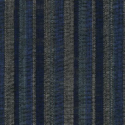 Sevenberry: Nara Homespun Blue Stripes