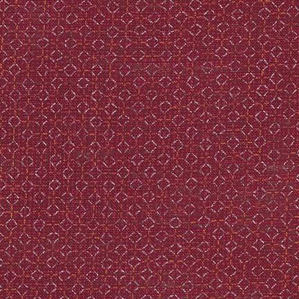 Sevenberry: Nara Homespun Red Tiles