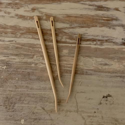 Shirotake Bamboo Blunt Needles