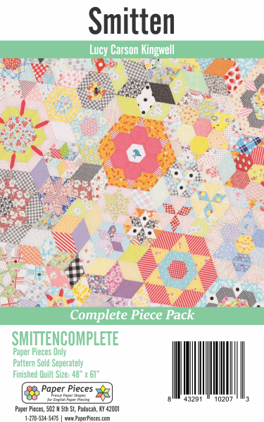 Smitten by Lucy Carson Kingwell Complete Paper Piece Pack