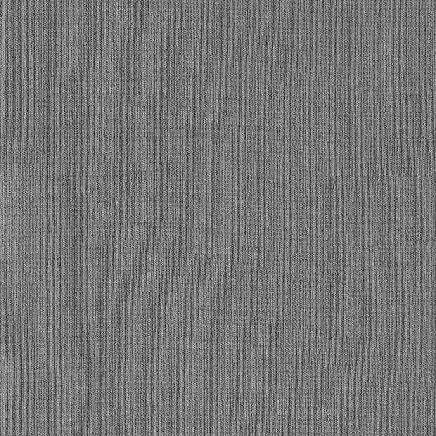 Solid Ribbed Knit Grey