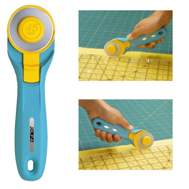 Splash 45mm Rotary Cutter Aqua