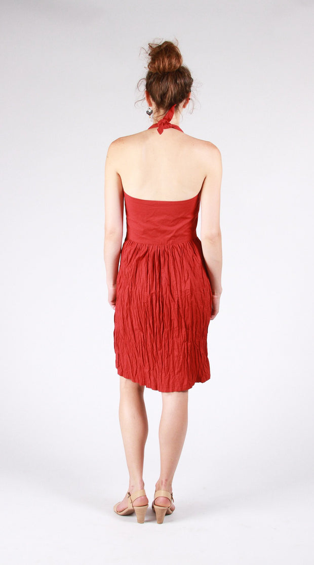 The Rose City Halter Dress