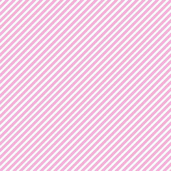 Sweet Shoppe Candy Stripe Unicorn Pink