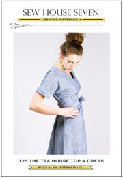 The Tea House Top And Dress