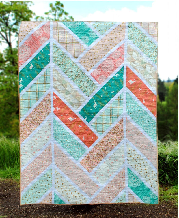 The Broken Herringbon Quilt