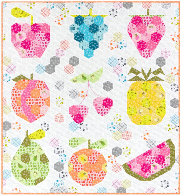 The Fruit Basket Quilt: An EPP Project