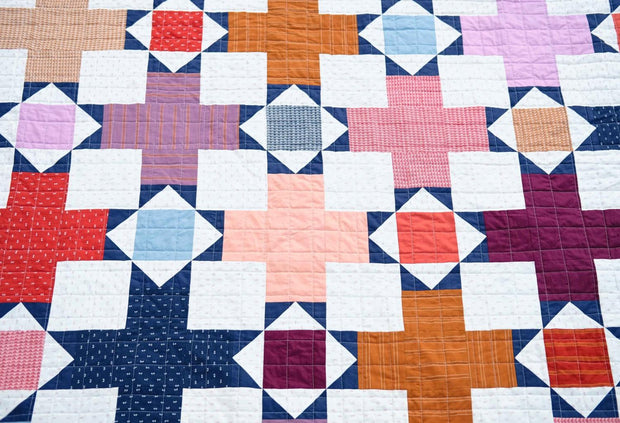 The Hazel Quilt Kit Warp & Weft Wovens