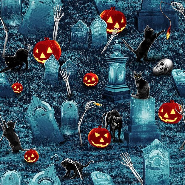 Thriller Night Glow in the Dark Graveyard Slate