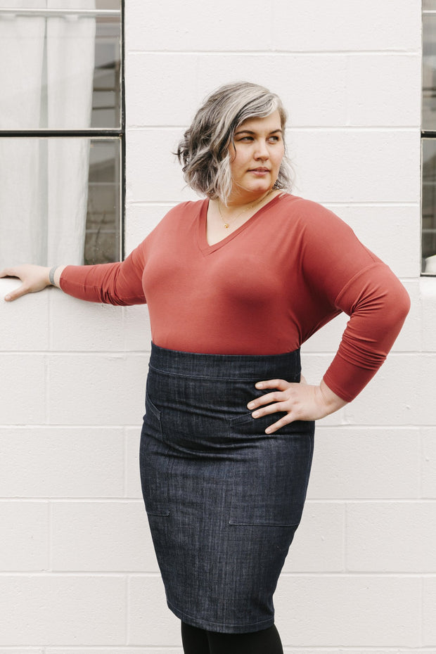 The Alberta Street Pencil Skirt